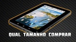 Qual tamanho de tablet comprar