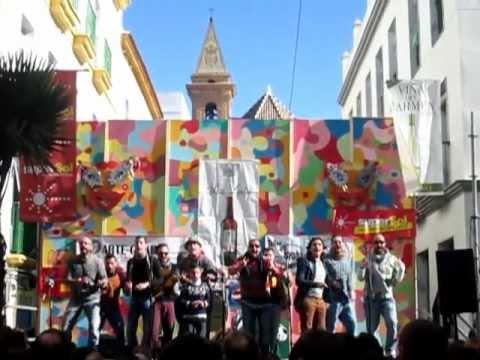 Ostinada en Barrio de la Vi�a - Grupo Carnavalesco de San Lucar