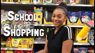 shopping back to school supplies