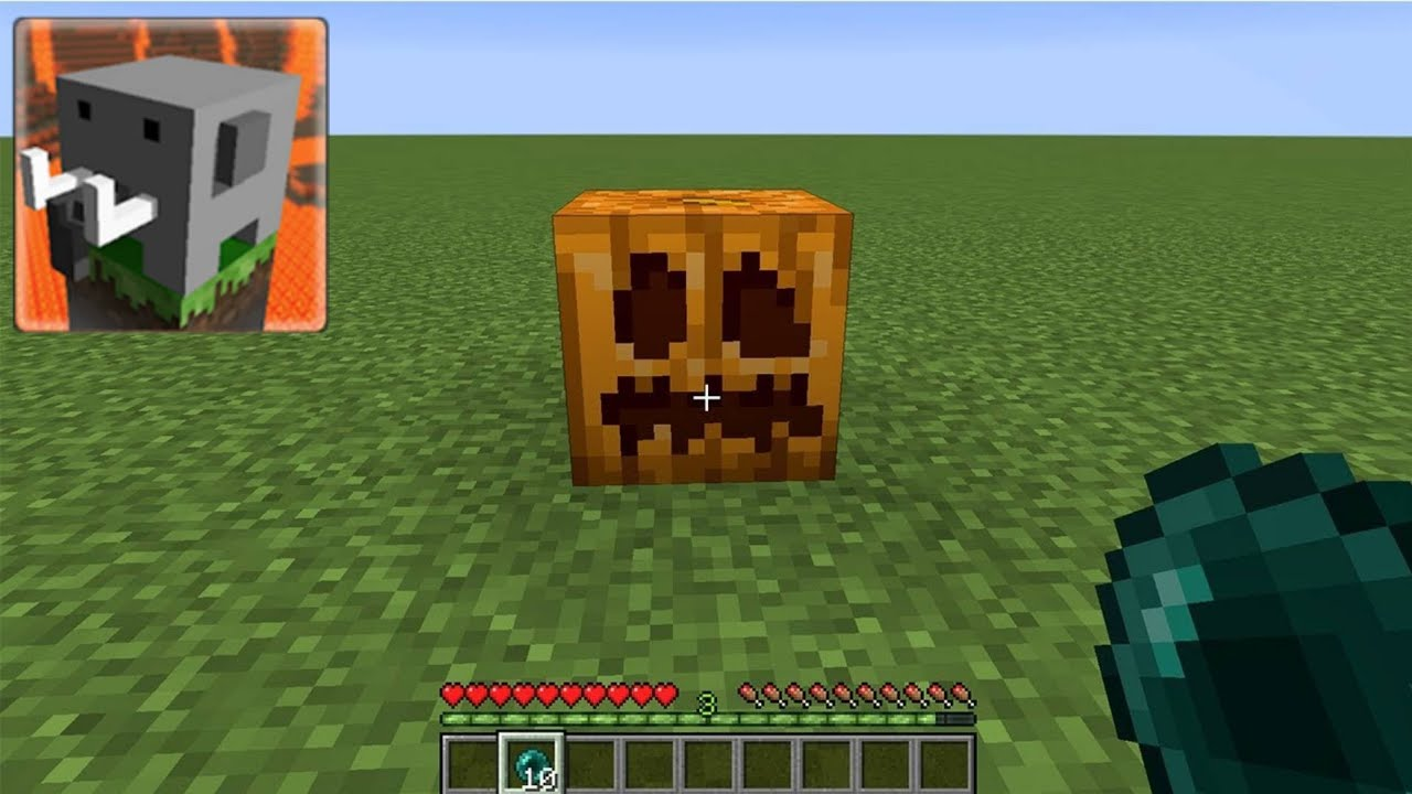 what's inside the pumpkin in craftsman building craft?