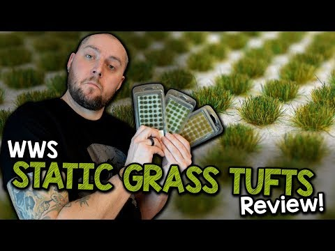 Static Grass Tufts by WWS - Review (Black Magic Craft Episode 071)