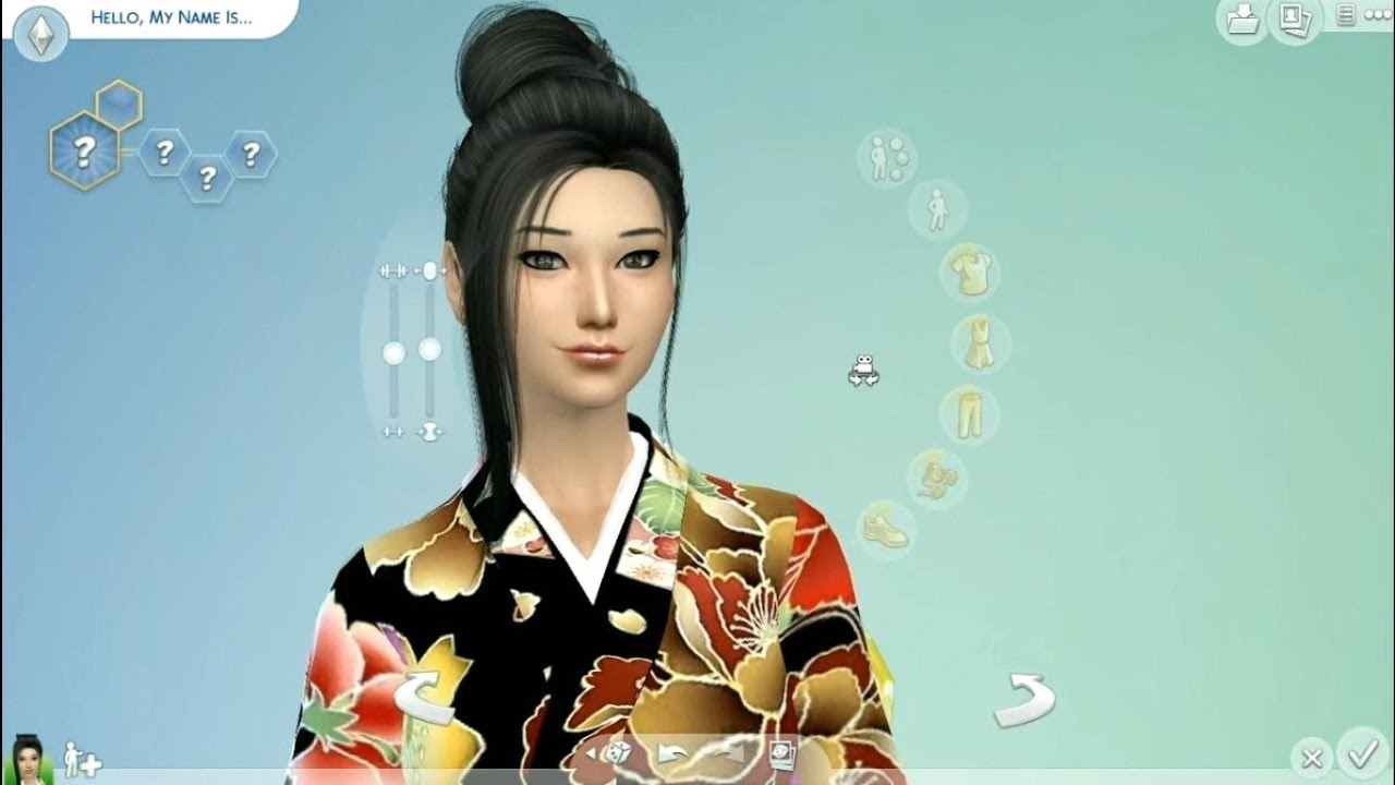 The Sims 4 Create Japanese Sims Youtube