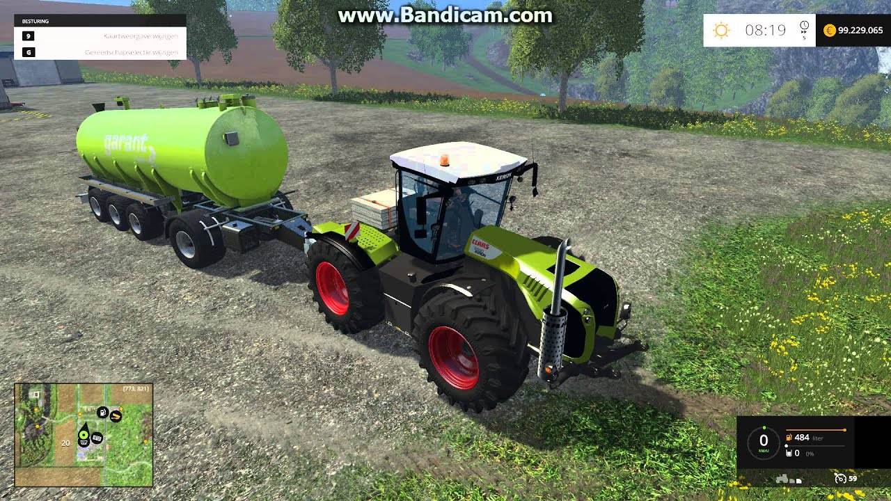 Claas xerion 5000 farming simulator 2015