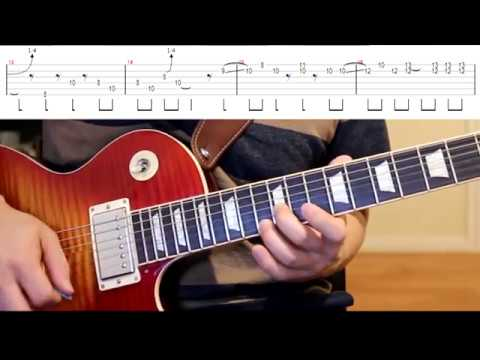 Gimme All Your Lovin' (ZZ TOP) Guitar Solo Cover With Tabs