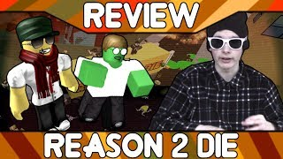 Reason 2 D!e: An Unremarkable Zombie Experience [ROBLOX Game Review]