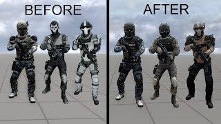 PAYDAY 2: Enemy Visual Update : Nuevos skins de enemigos