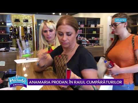 Anamaria Prodan, shopping de lux la Milano