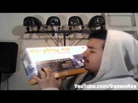 m audio keyrig 49 easy to use 49 note usb keyboard unboxing youtube. Black Bedroom Furniture Sets. Home Design Ideas