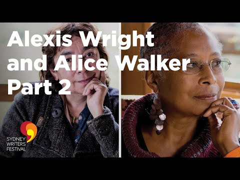 ALEXIS WRIGHT and ALICE WALKER at Sydney Writers' Festival 2014  - Part 2
