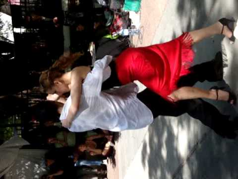 Tango @ Antique Market Buenos Aires