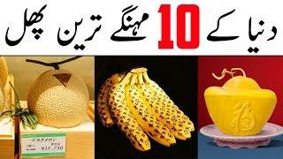 Expensive Fruits Of The World | Dunya Ke Mehangay Tareen Fruits | The Urdu Teacher