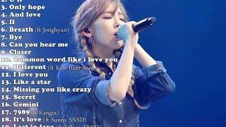 Best Songs of Kim Taeyeon (김태연)