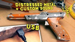 NINTENDO ZAPPER MOD | Sound, USB, Metal Distressed Look