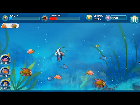 Fish eating fish apps on google play for Fish eat fish game