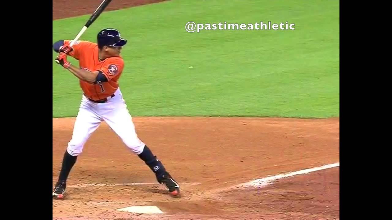 Carlos Correa Slow Motion Home Run Baseball Swing Hitting