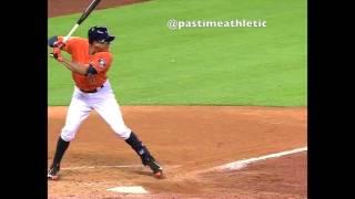 Carlos Correa Slow Motion Home Run Baseball Swing Hitting Mechanics MLB Hitting Tips