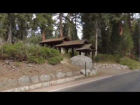 Национальный парк Секвойя в Калифорнии