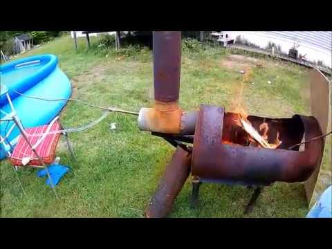 Harbor Freight Fountain Pump wood fired Pool heater