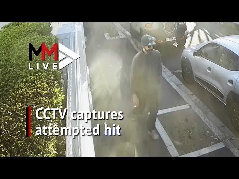CCTV captures assassination attempt in broad daylight, police request help identifying suspect