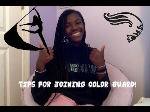 Tips for Joining Color Guard