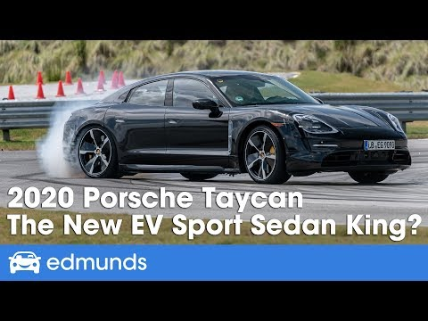 Edmunds What'S My Car Worth >> 2020 Porsche Taycan Reveal First Look The New Electric