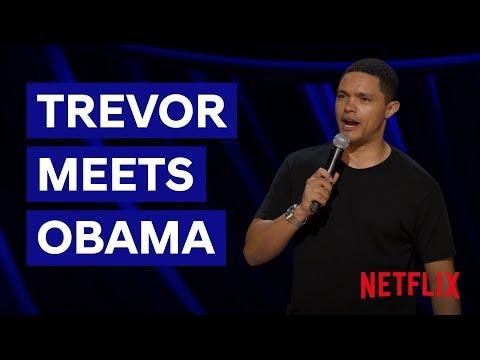 Trevor Meets Obama