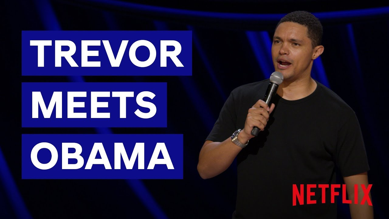 Download Trevor Meets Obama   Son of Patricia   Netflix South Africa