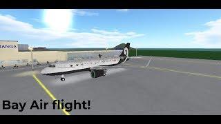 Bay Air flight! | EMERGENCY LANDING! | ROBLOX