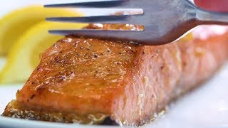 Broiled Salmon with Lemon | Cooking Light