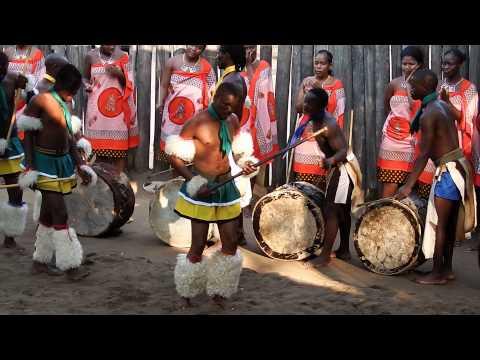 Swazi Men Warrior Dance  Swaziland 1