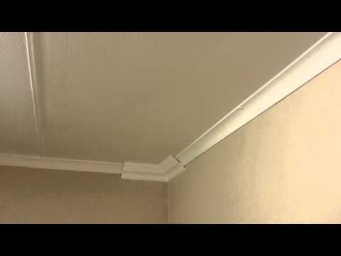 How to Install polystyrene cornices