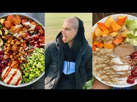 Full Day Of Hearty Home Cooked Vegan Meals || What I Ate Today - Easy & Healthy Recipes
