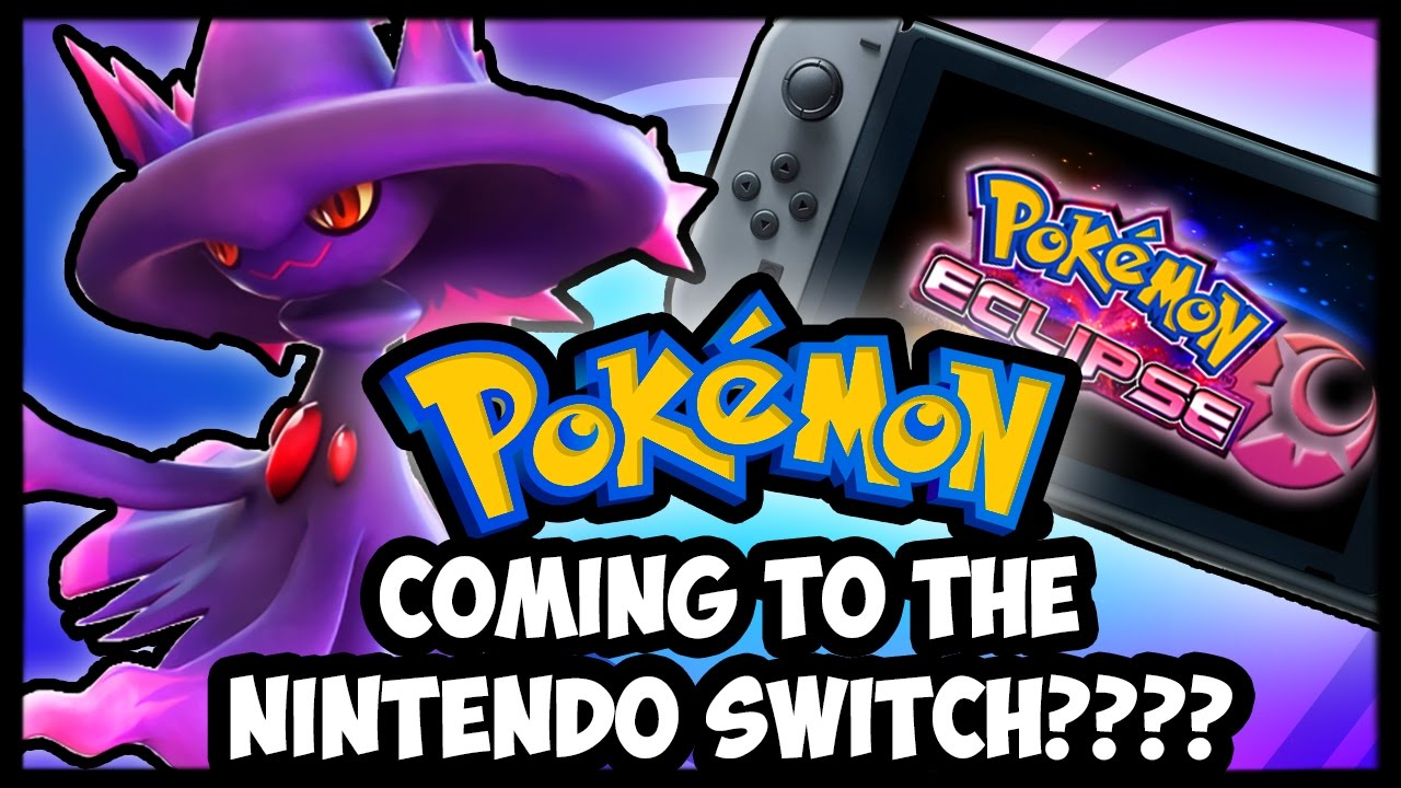 3rd Pokémon Game Coming To The Nintendo Switch In 2017