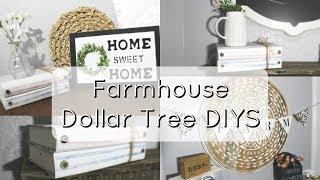 FARMHOUSE DOLLAR TREE DIYS
