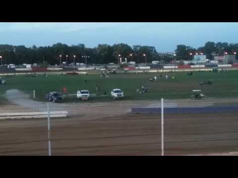USAC Sprint Cars Heat 1  Terre Haute Action Track