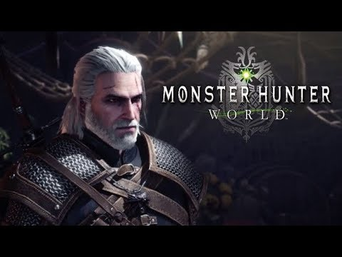 SIAMO GERALT! THE WITCHER & MONSTER HUNTER WORLD thumbnail