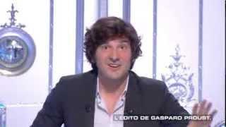 Salut les Terriens du 26 10 Gaspard Proust Canal+ 2013 10 26 20 42