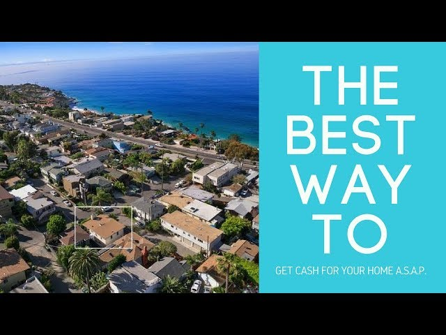 Get CASH 4 your home ASAP, avoid foreclosure & quick distressed sales