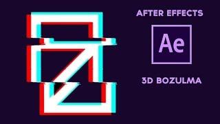 After Effects 3D Bozulma Efekti (Glitch Effect) Video