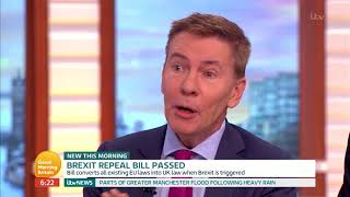 Brexit Repeal Bill Passed | Good Morning Britain