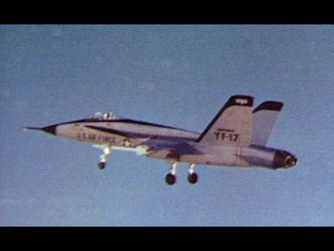 Northrop YF-17 First Flight