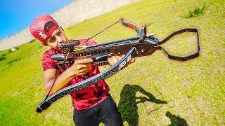 Nova Arma Dos Caçadores De Lendas - Cross Bow / Balesta !
