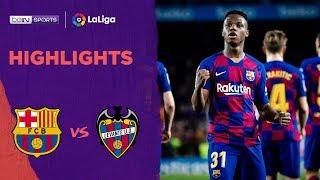 Barcelona 2-1 Levante | LaLiga 19/20 Match Highlights