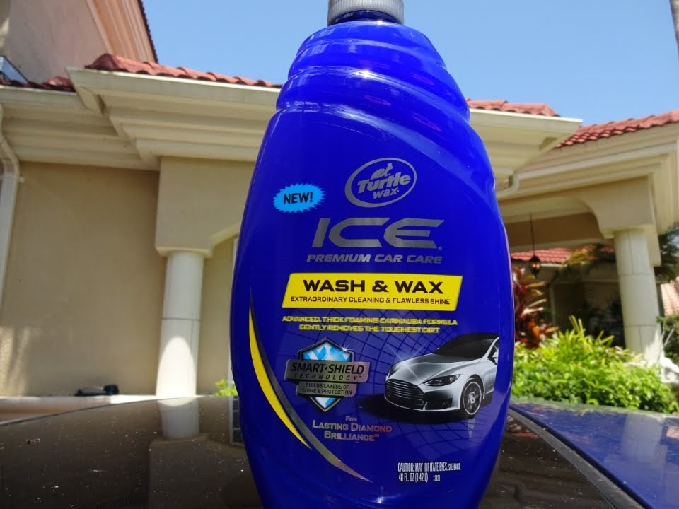 Turtle Wax Ice Car Wash Review
