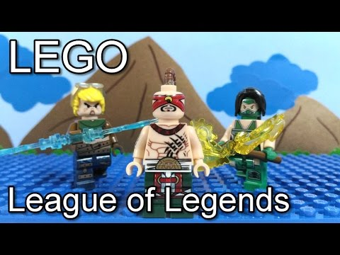 Lego - LOL - League of Legends - Knockoff Minifigures Review - YouTube