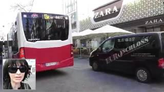Vienna mariahilfer straße shopping street Video Blog by Simona Cochi