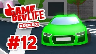 Game Dev Life #12 - BRAND NEW CAR (Roblox Game Dev Life)