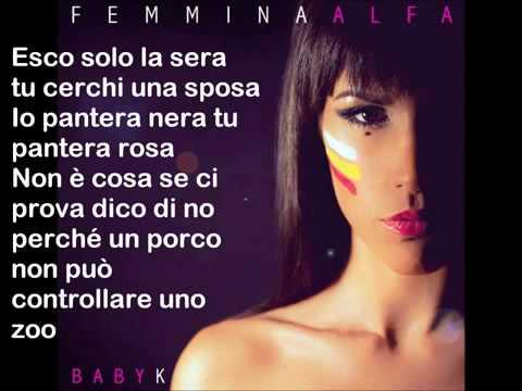 Femmina Alfa Baby K