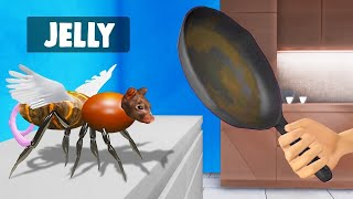 Rat + Fly = SCARY CREATURE! (Slap The Fly)