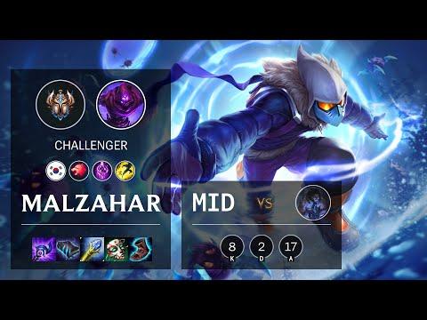 Malzahar Mid vs Sylas - KR Challenger Patch 10.16